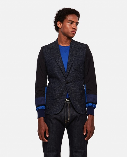 Deconstructed wool blazer Men Junya Watanabe 000199450029713 1