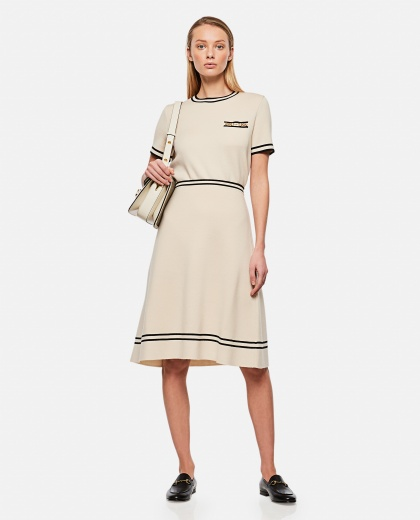 Wool skirt with contrasting finishes Donna Gucci 000287050042330 2