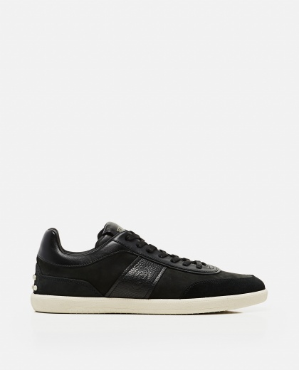 Lace-up sneakers in leather Men Tod's 000268610039610 1