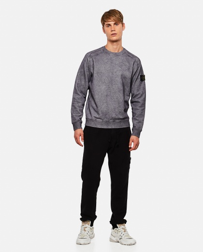 Cotton mélange sweatshirt Men Stone Island 000270970039915 2