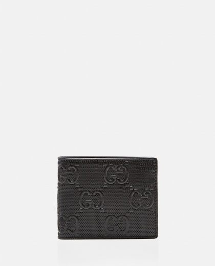 Wallet with embossed GG motif