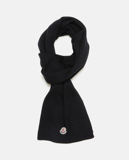 Virgin wool scarf Men Moncler 000271520040001 2
