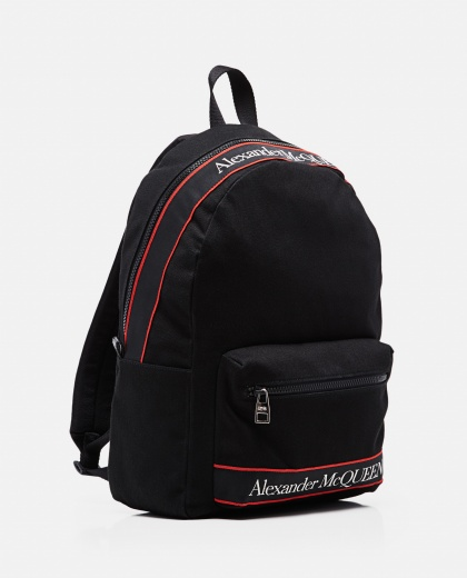Metropolitan cotton canvas backpack  Men Alexander McQueen 000291160042866 2