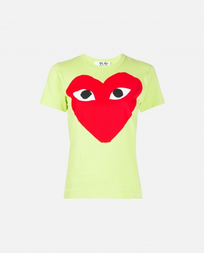 T-shirt with print Women Comme des Garcons Play 000226050033435 1