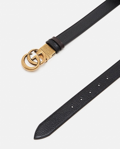 Reversible belt with Double G buckle Men Gucci 000293510043221 2