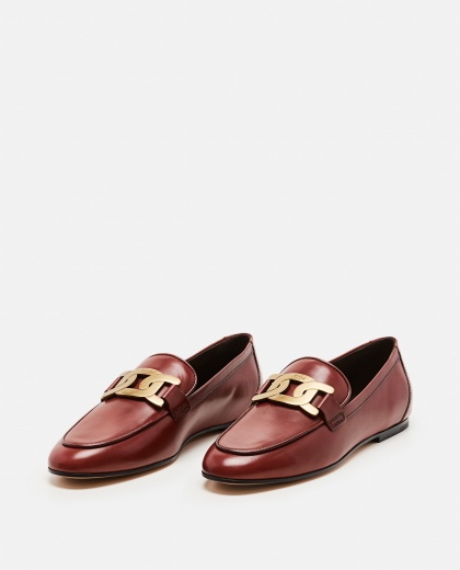 Loafers with chain detail Women Tod's 000255560037766 2