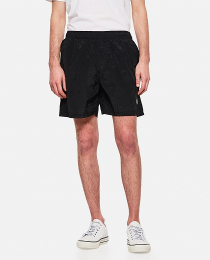 Metallic nylon swim shorts Men Stone Island 000292570043078 1