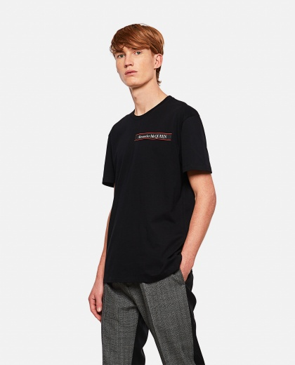 T-shirt with application Men Alexander McQueen 000291080042854 1