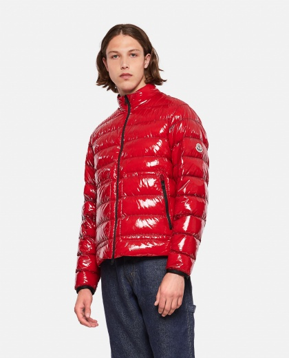 Agar nylon laqué down jacket  Men Moncler 000308650046220 1