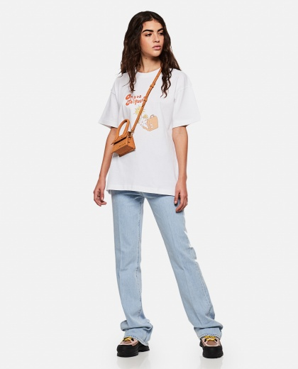 On y va Jacques t-shirt Women Jacquemus 000262700038864 2