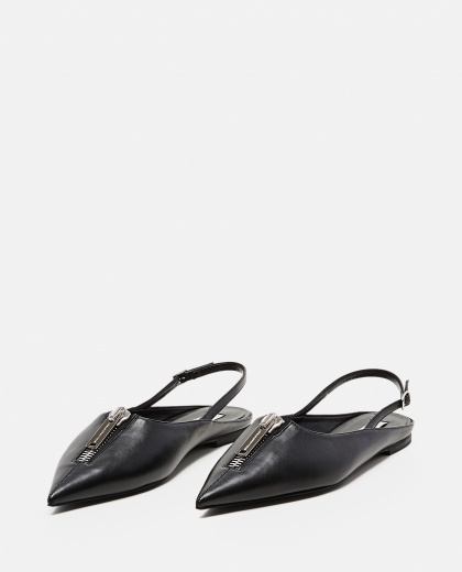 Slingback with zip Women Stella McCartney 000290780042819 2