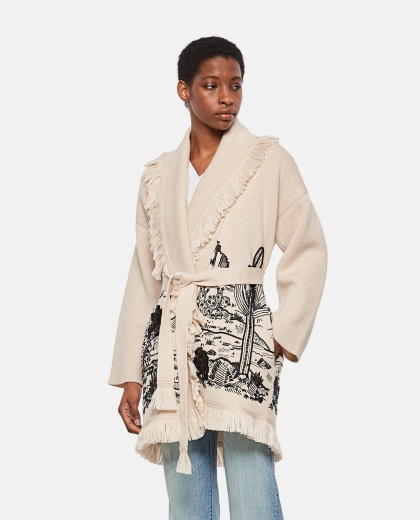 The Shaded Canyon Oversized Cardigan Donna Alanui 000303700044578 1