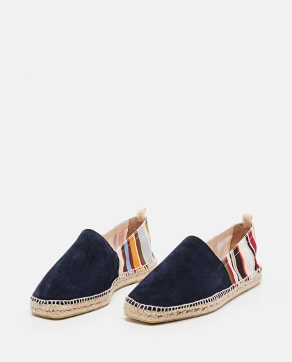 Canvas and suede Pablo flat espadrilles  Men Castaner 000291840042979 2