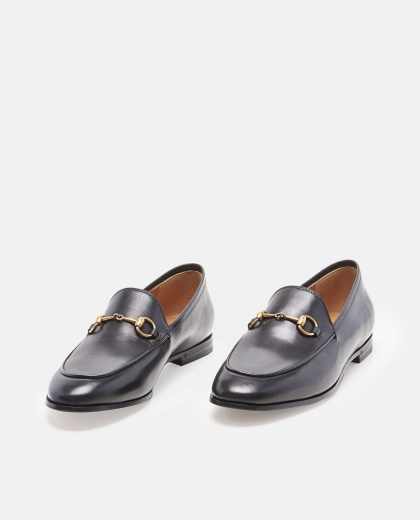 Gucci Jordaan Leather Loafer Women Gucci 000022920006789 2