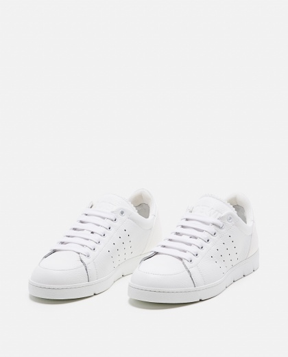 Sneaker morbida in vitello Donna Loewe 000258330038161 2