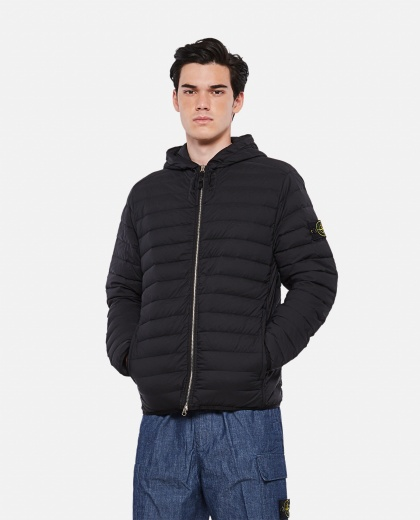 Stretch nylon down jacket Men Stone Island 000292460043052 1