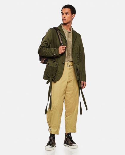 Tapered trousers with belt Men J.W. Anderson 000293260043191 2
