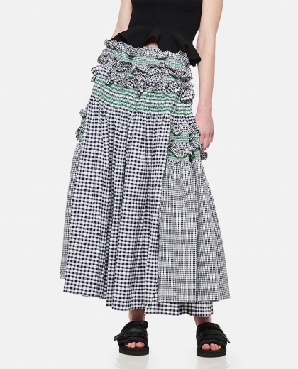 Skirt with ruffles Donna Molly Goddard 000305120044758 1