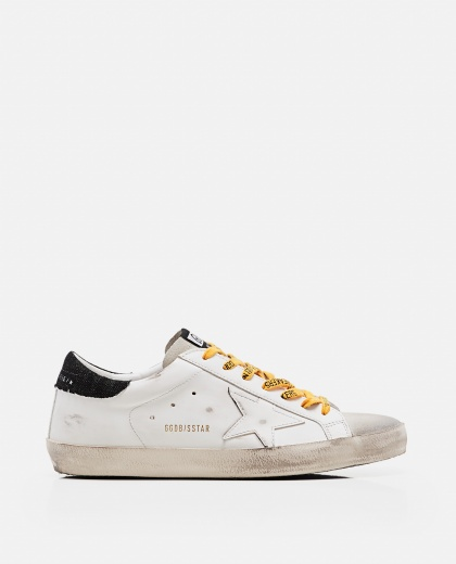 'Superstar' sneakers in leather and suede Men Golden Goose 000269260039692 1