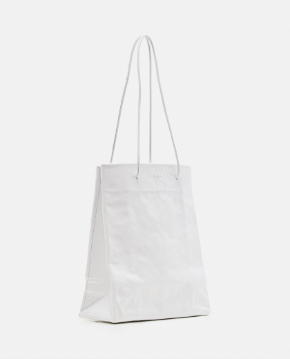 Tote bag with wrinkled effect Women Medea 000262590038852 2