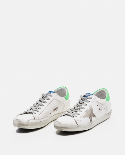 'Superstar' sneakers in leather and suede Men Golden Goose 000269240039690 2