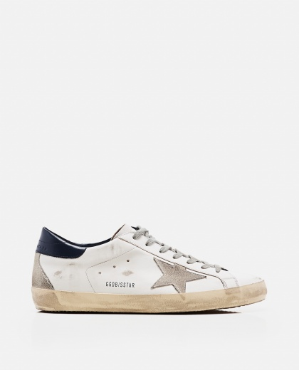 'Superstar' sneakers in leather and suede Men Golden Goose 000269280039694 1