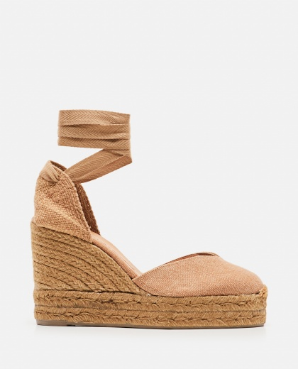 Chiara  canvas espadrille with wedge of 11cm  Women Castaner 000286080042218 1