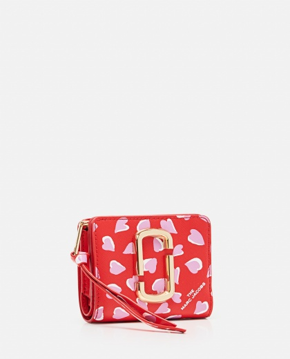 The Snapshot Printed Hearts Mini Compact Wallet Women Marc Jacobs 000289560042640 2