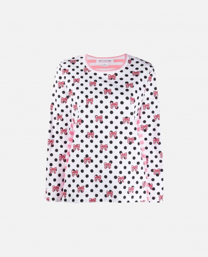 Cotton T-shirt Women Comme des Garcons 000243820036048 1