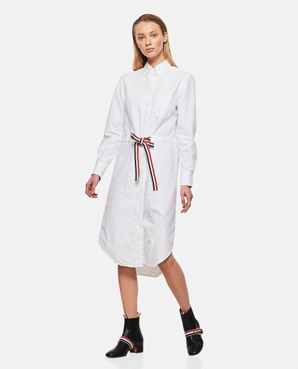 Chemisier dress with belt Donna Thom Browne 000295540043454 2