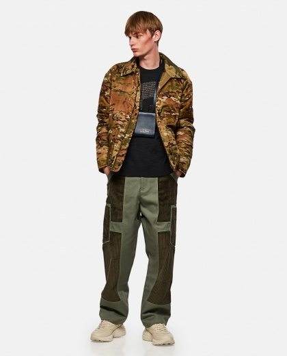 Padded military camouflage jacket Men Junya Watanabe 000270580039839 2