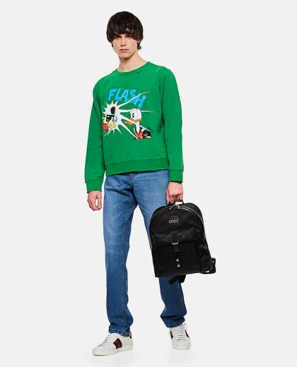 Donald Duck Disney x Gucci short sweatshirt Men Gucci 000293020043159 2