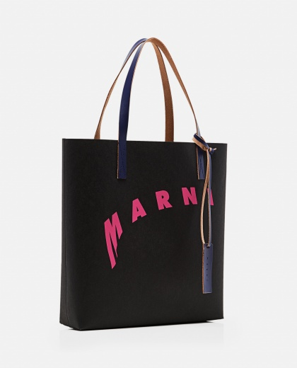Shopping bag in cellulose Women Marni 000289880042702 2