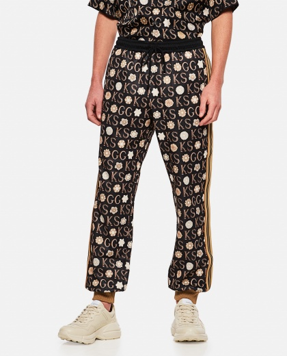Ken Scott x Gucci print jogging pants Men Gucci 000293190043182 1