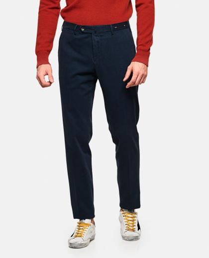 Long wool blend trousers Men PT01 000210670031255 1