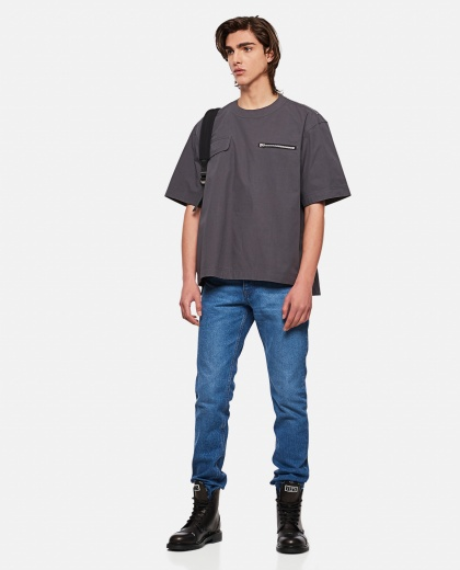 T-shirt with pockets detail Men Sacai 000301270044254 2