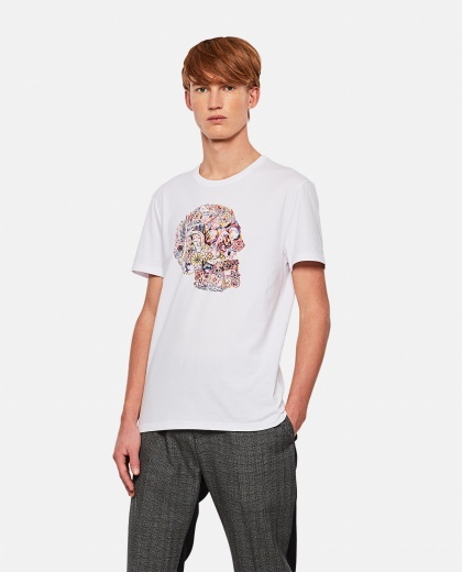 T-shirt with print Men Alexander McQueen 000290990042841 1