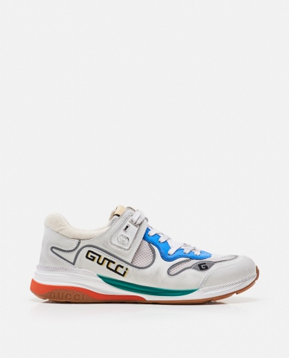Ultrapace leather sneakers