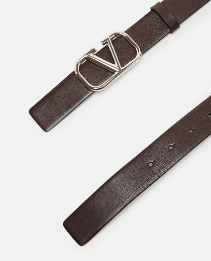 V logo leather belt Men Valentino 000294880043379 2