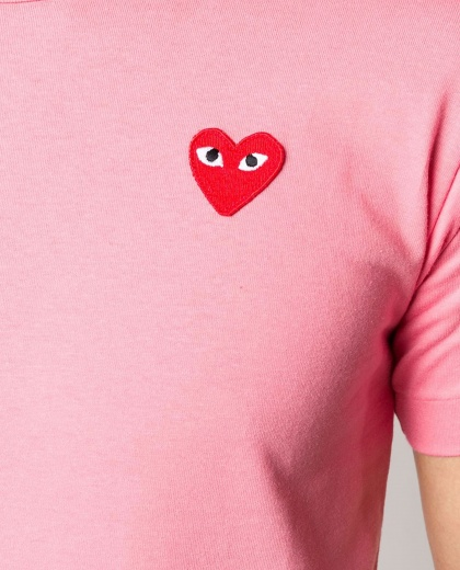 T-shirt with embroidery  Men Comme des Garcons Play 000230920034075 2
