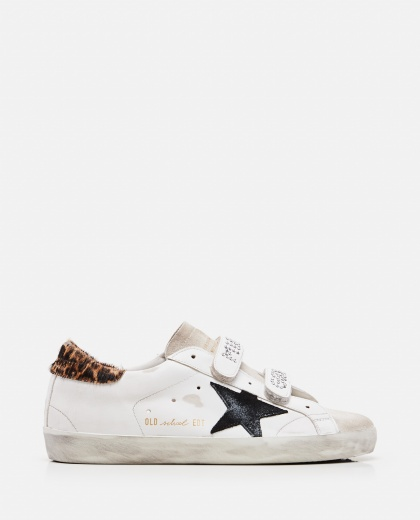 Old School Leather Sneaker Women Golden Goose 000286770042300 1