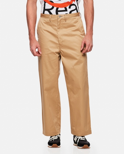Trousers with low waist Men Junya Watanabe 000229500033844 1