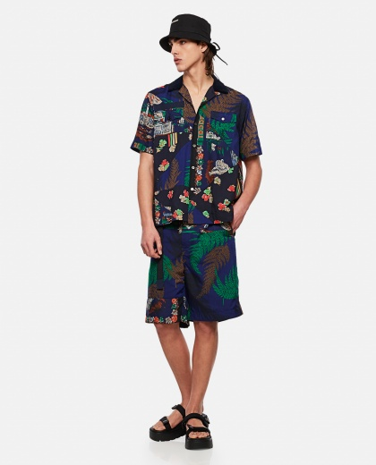 HANK WILLIS THOMAS x SACAI printed shirt Men Sacai 000301140044236 2