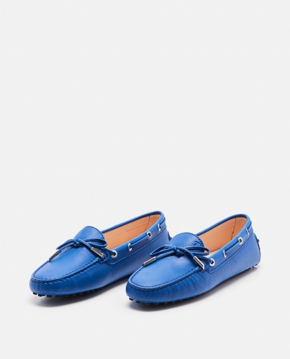 Textured leather loafers Women Tod's 000086310033244 2