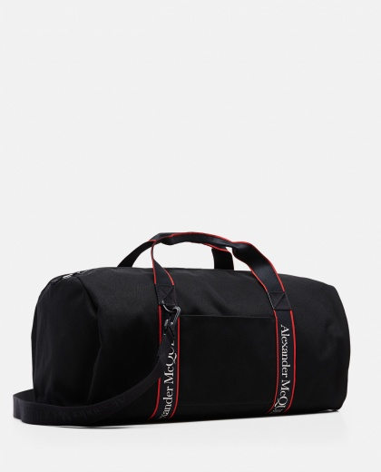 Metropolitan duffle bag in cotton canvas Men Alexander McQueen 000291200042870 2