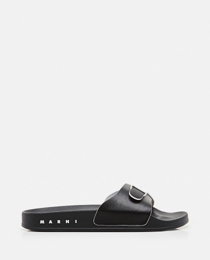 Rubber sandal with strap Donna Marni 000307240045022 1