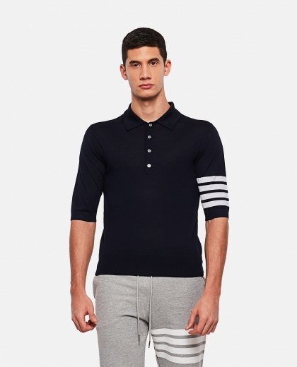 Lightweight short-sleeved polo