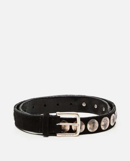 Black leather belt  Women Golden Goose 000248440036734 1