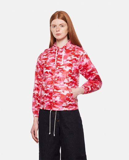 Bomber corto camouflage Donna Comme des Garcons 000316650046380 1