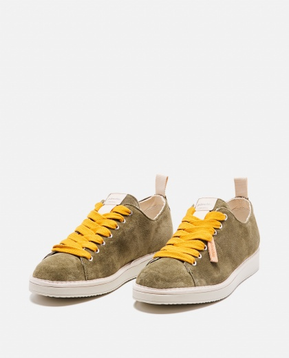 Suede lace-up sneakers Men Panchic 000237810035170 2